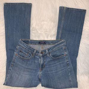 Levi's super low 518 size 7 short jeans A